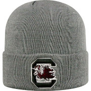 Top of the World Men's South Carolina Gamecocks Grey Cuff Knit Beanie