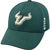 Top of the World Men's South Florida Bulls Green Booster Plus 1Fit Flex Hat