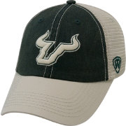 Top of the World Men's South Florida Bulls Green/White Off Road Adjustable Hat
