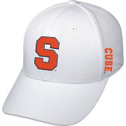 Top of the World Men's Syracuse Orange White Booster Plus 1Fit Flex Hat