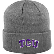 Top of the World Men's TCU Horned Frogs Grey Cuff Knit Beanie