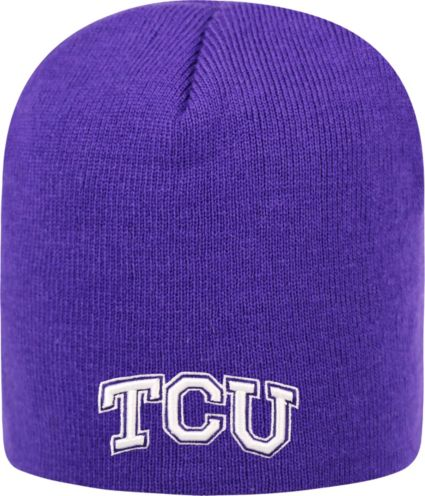 132f2e3cf34 ... Men s TCU Horned Frogs Purple TOW Classic Knit Beanie. noImageFound
