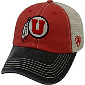 Top of the World Men's Utah Utes Crimson/White/Black Off Road Adjustable Hat