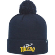 Top of the World Men's Toledo Rockets Midnight Blue Pom Knit Beanie
