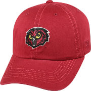 Top of the World Men's Temple Owls Cherry Crew Adjustable Hat