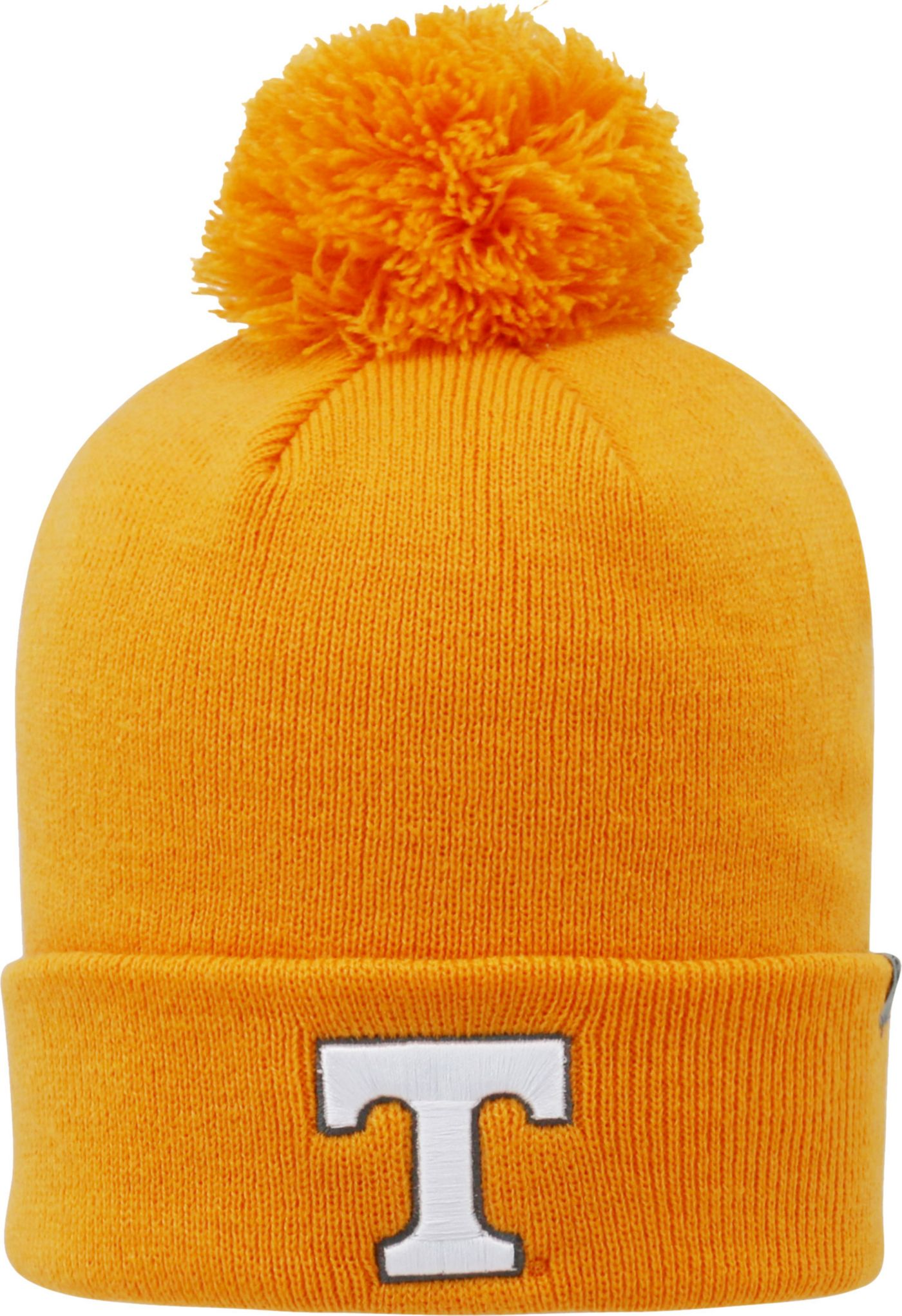 Top of the World Men's Tennessee Volunteers Tennessee Orange Pom Knit Beanie