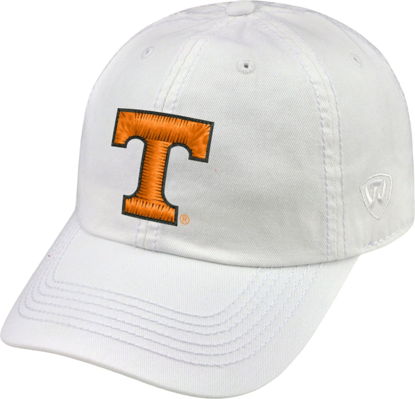 Top of the World Men's Tennessee Volunteers White Crew Adjustable Hat