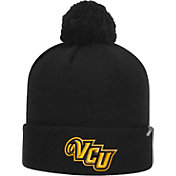 Top of the World Men's VCU Rams Black Pom Knit Beanie