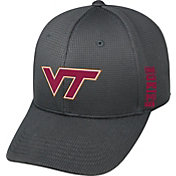 Top of the World Men's Virginia Tech Hokies Charcoal Booster Plus 1Fit Flex Hat