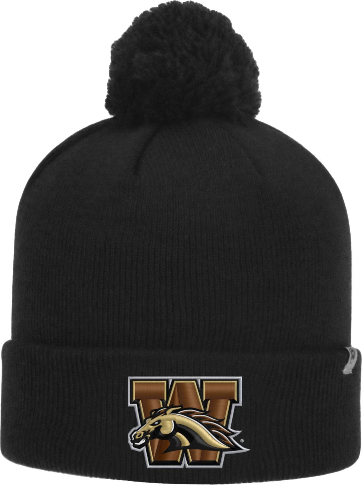 Top of the World Men's Western Michigan Broncos Black Pom Knit Beanie