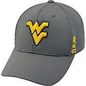Top of the World Men's West Virginia Mountaineers Charcoal Booster Plus 1Fit Flex Hat