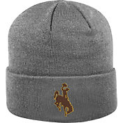 Top of the World Men's Wyoming Cowboys Grey Cuff Knit Beanie