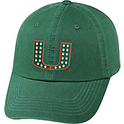 Top of the World Women's Miami Hurricanes Green Radiant Adjustable Hat