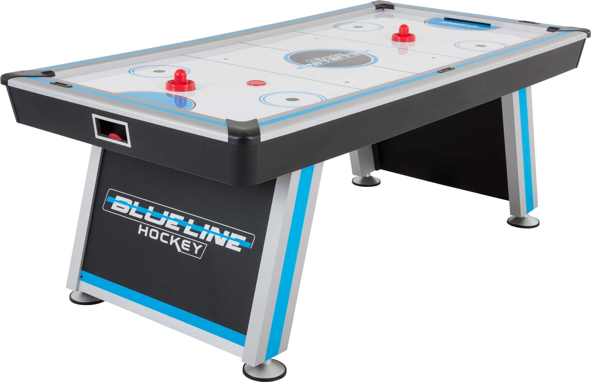 Attractive Triumph Blue Line 7u0027 Air Hockey Table