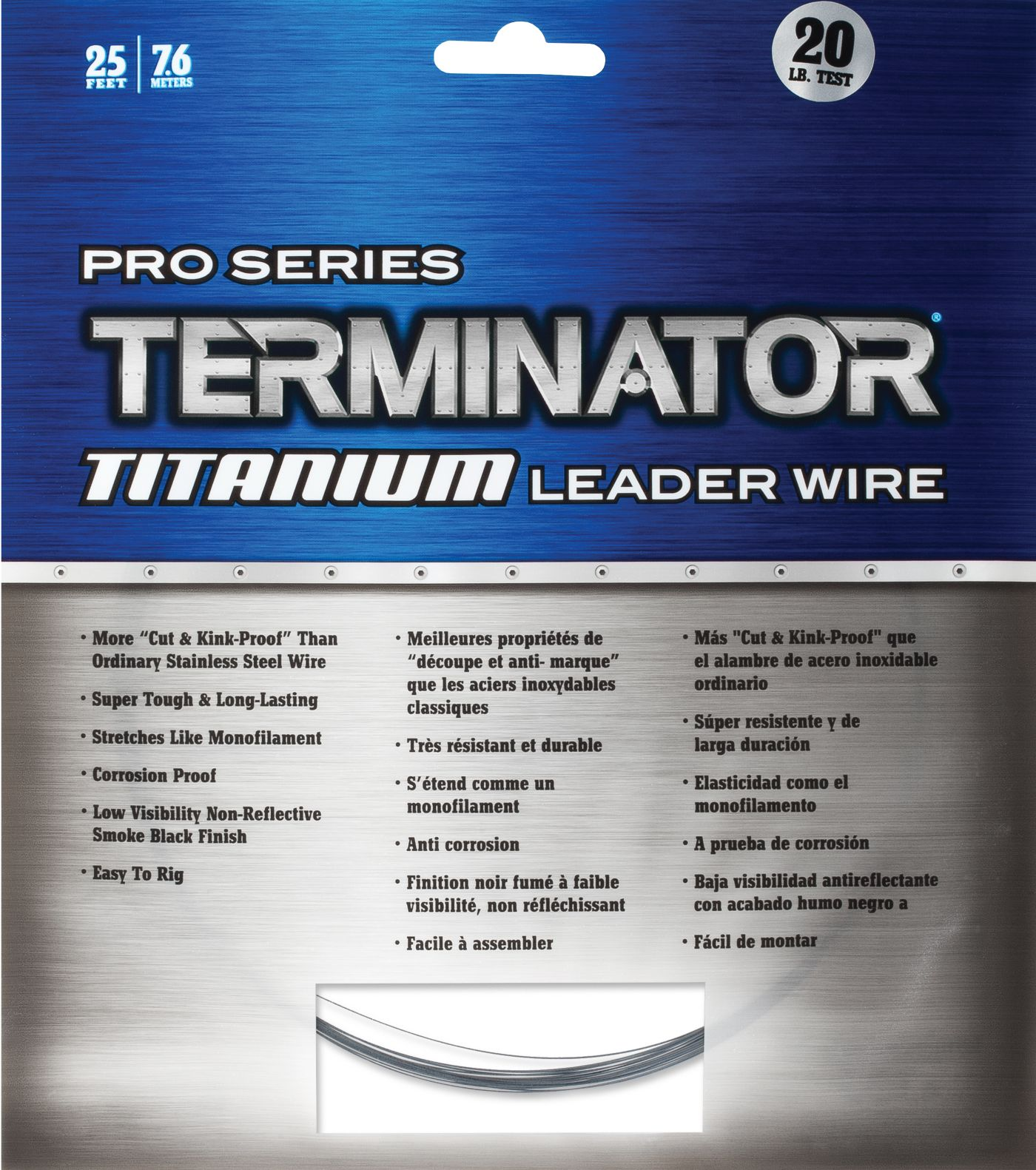 Terminator Multi-Strand Titanium Lightweight Leader