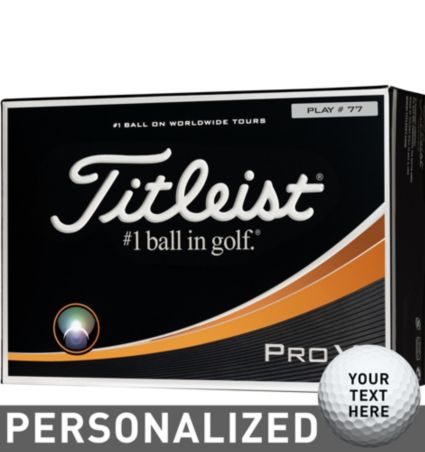Titleist Pro V1 Custom Double Number Golf Balls