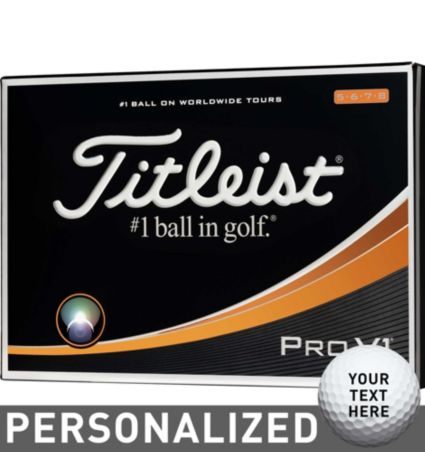 Titleist Pro V1 High Number Personalized Golf Balls