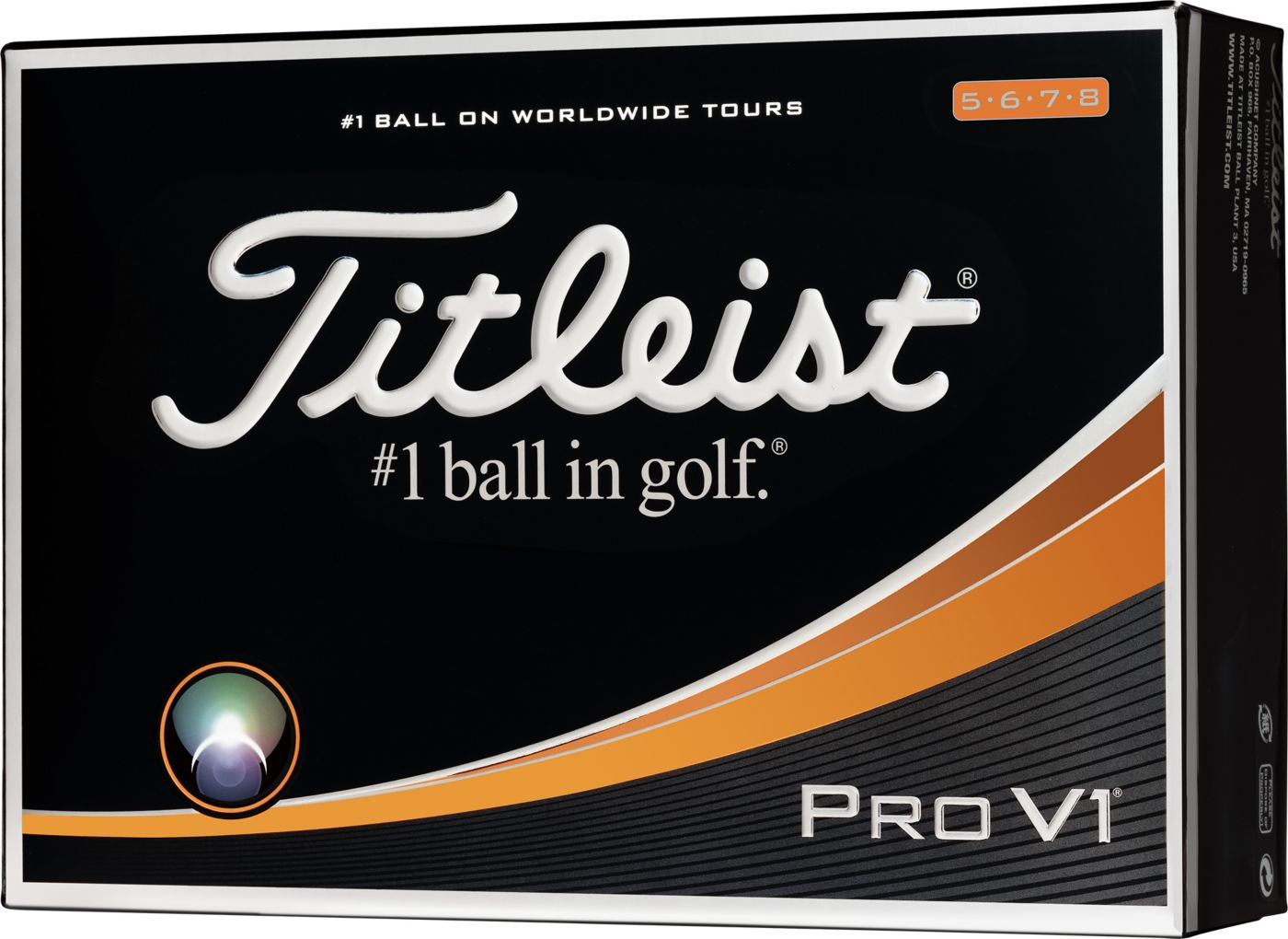 Titleist Pro V1 High Number Golf Balls - Prior Generation