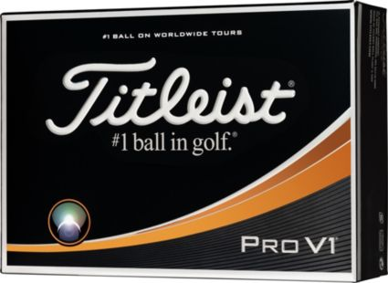 Titleist Pro V1 Same Number Personalized Golf Balls