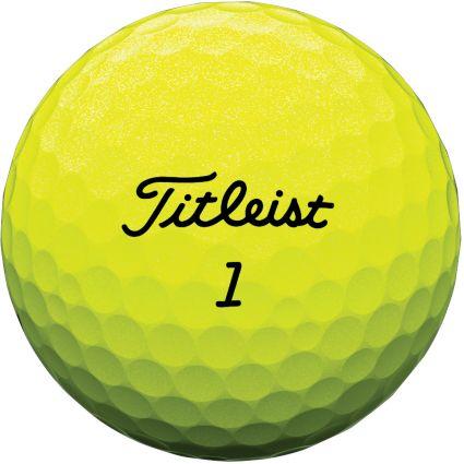 Titleist Tour Soft Yellow Golf Balls
