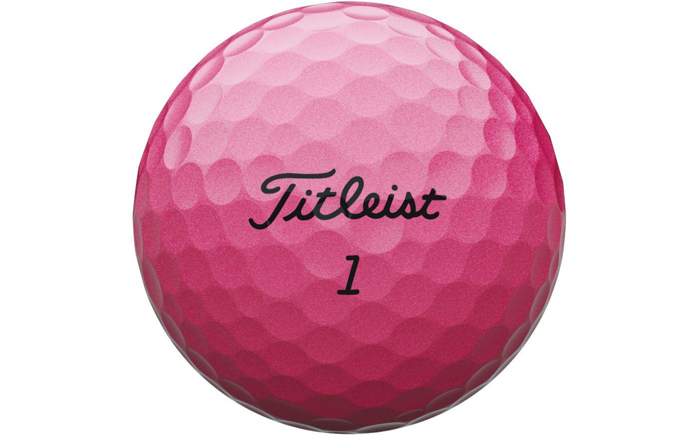Titleist Velocity Pink Golf Balls