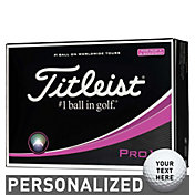 Titleist Pro V1 Personalized Golf Balls – Pink Play Number