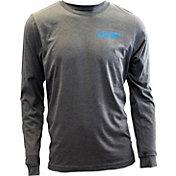 Deep Men's Triblend Performance Long Sleeve Shirt