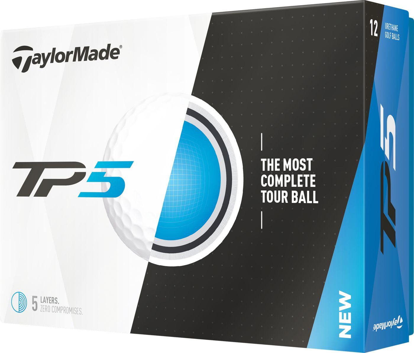 TaylorMade 2017 TP5 Golf Balls