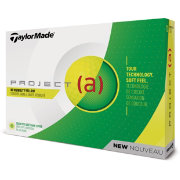 TaylorMade 2018 Project (a) Yellow Golf Balls