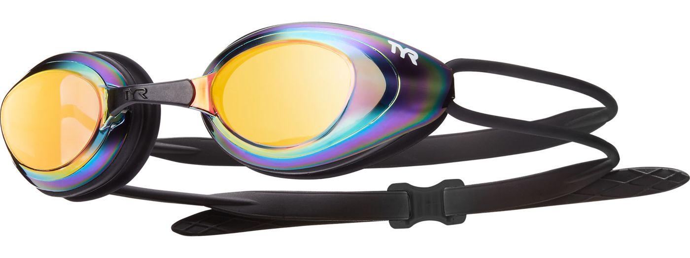 TYR Blackhawk Mirrored Racing Swim Goggles