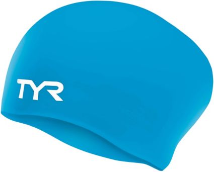 TYR Long Hair Swim Cap. noImageFound 1559fb8a1