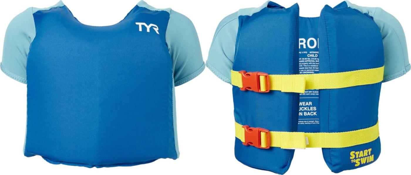 TYR Kids' Start to Swim Flotation Shirt