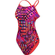 TYR Women's Machu Cross Cut Tie Back Swimsuit