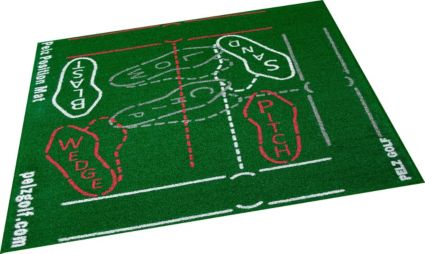 Dave Pelz Short Game Position Training Mat