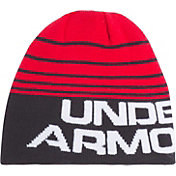 Under Armour Boys' Double Layer Reversible Beanie