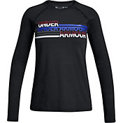 Under Armour Boys' Cross Branded Long Sleeve Shirt