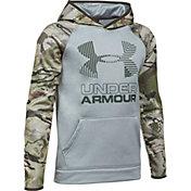 Under Armour Boys' Armour Fleece Camo Blocked Hoodie