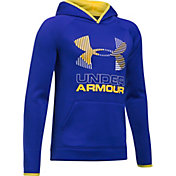 Under Armour Boys' Armour Fleece Solid Big Logo Hoodie