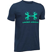 Under Armour Boys' Antler Logo T-Shirt