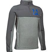 Under Armour Boys' Phenom 1/4 Zip Long Sleeve Shirt
