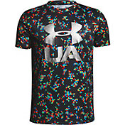 Under Armour Boys' Printed Crossfade T-Shirt