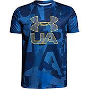Under Armour Boys' Printed Crossfade T-Shirt
