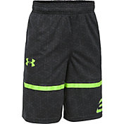 Under Armour Boys' SC30 Printed Spear Basketball Shorts