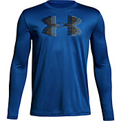 Under Armour Boys' Tech Big Logo Long Sleeve Shirt