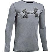 Under Armour Boys' Threadborne Tech Long Sleeve Shirt