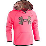 Under Armour Girls' RealTree Logo Hoodie