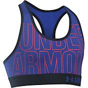 Under Armour Girls' HeatGear Armour Graphic Sports Bra