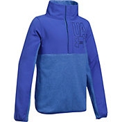 Under Armour Girls' Phenom Fleece Half-Snap Pullover Sweatshirt
