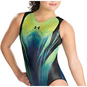 Under Armour Girls' ArmourFuse Matrix Gymnastics Leotard