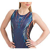 Under Armour Girls' ArmourFuse Motivate Gymnastics Leotard